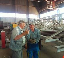 Металлические каркасы зданиЙ крепления башенного крана нестандартные металлоконструкции закладные - Строительные работы в Симферополе