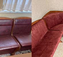 Перетяжка углового дивана - Сборка и ремонт мебели в Симферополе