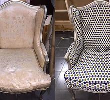Перетяжка кресла - Сборка и ремонт мебели в Симферополе
