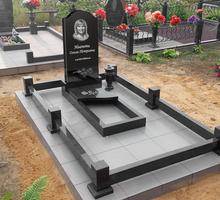 Облицовка цоколя на кладбище плиткой, гранитом и мрамором - Ритуальные услуги в Севастополе