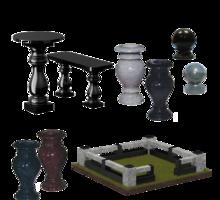 Гранитные и мраморные вазы, лампады, шары, балясины - Ритуальные услуги в Севастополе