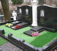 Застилка газоном места захоронения на кладбище - Ритуальные услуги в Севастополе