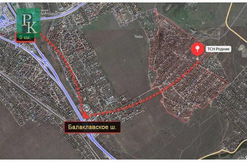 Видовой участок СТ«Родник» 5сот. - Участки в Севастополе