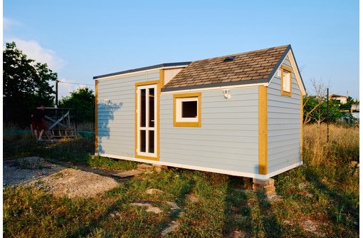 Мобильный мини дом готовый для проживания в комплектации под ключ. Доставка по Крыму - Дома в Севастополе