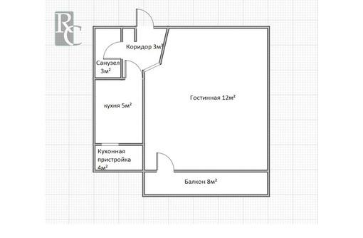Продаётся отличная однокомнатная квартира на проспекте Победы д.23! - Квартиры в Севастополе