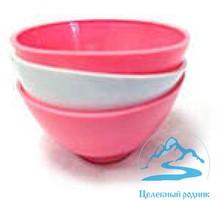 Мисочка пластиковая средняя (желтая,розовая,синяя) - Товары для здоровья и красоты в Симферополе