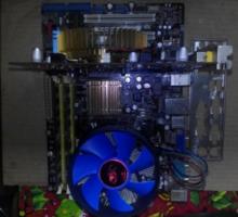Игровой Intel Core 2 Duo\ видео-1gb - Настольные компьютеры в Крыму