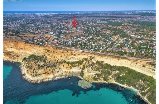 Продам участок 4 сотки у моря на Фиоленте, р-н Маяка. Есть 15 кВт, 380В. Цена 1,6млн.р. - Участки в Севастополе