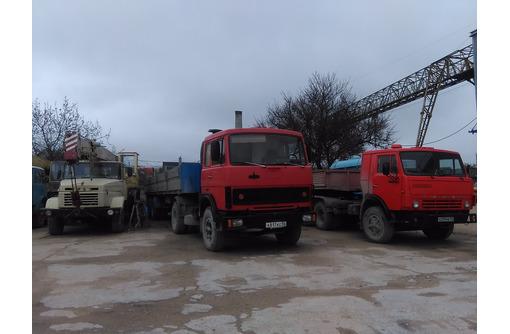 Аренда бортовые машины гп 20 тонн , автокраны самосвал . - Грузовые перевозки в Севастополе