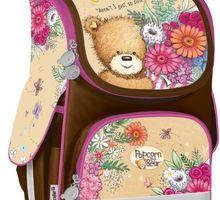 Красивый каркасный рюкзак Kite Popcorn the Bear - Товары для школьников в Севастополе