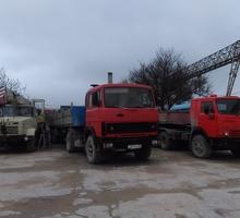Бортовые машины гп 20 тонн , самосвал, автокраны специализированная строительная техника. - Грузовые перевозки в Севастополе