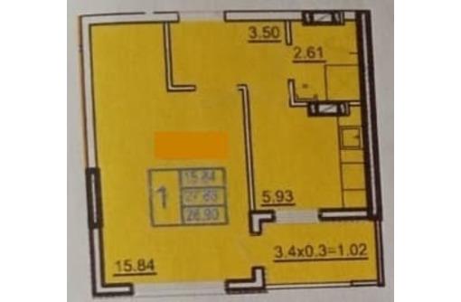 Продам 1-комнатную в новом доме на Горпищенко - Квартиры в Севастополе
