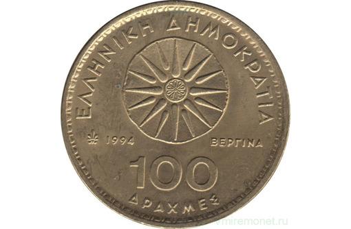 Монета 100 драхм Греция 1994 год - Антиквариат, коллекции в Севастополе