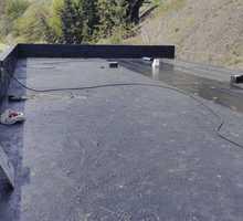 Ремонт Плоских крыш - Еврорубероид - Кровельные работы в Гурзуфе