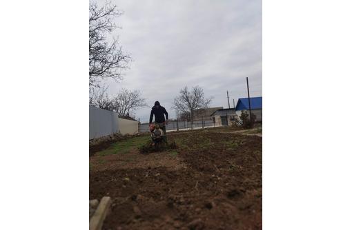 Перекопка земли мотоблоком,покос,спил. - Сельхоз услуги в Севастополе