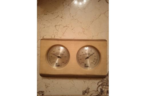 Термометр и измеритель влажности для бани, сауны Sawo. Сделан в Финляндии - Климатическая техника в Севастополе