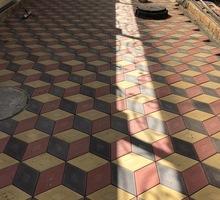 Тротуарная плитка 3D ромб - Отделочные материалы в Симферополе
