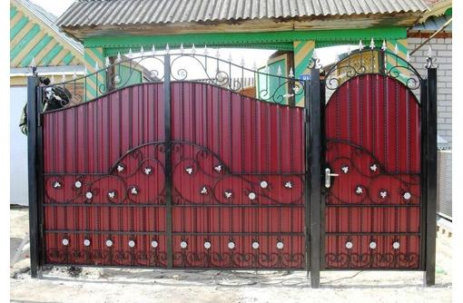Ворота БЕЛОГОРСК - Заборы, ворота в Белогорске