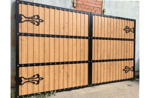 Ворота САКИ - Заборы, ворота в Саках