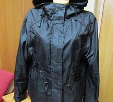 Куртка женская с капюшоном, размер 50 - Женская одежда в Симферополе