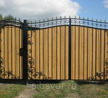 Ворота откатные ФЕОДОСИЯ - Заборы, ворота в Крыму
