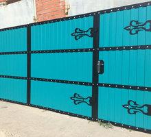 Ворота откатные Бахчисарай - Заборы, ворота в Бахчисарае