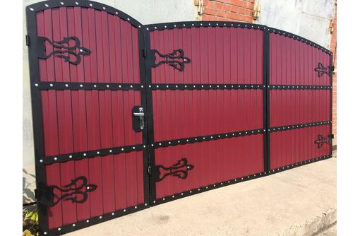 Ворота откатные Черноморское - Заборы, ворота в Черноморском