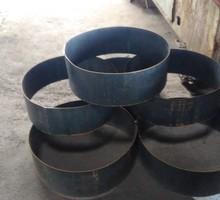 Изготовим армированные каркасы, кольца  для буронабивных свай , закладные.Гиб до 10мм  рубка  25мм - Металлические конструкции в Симферополе