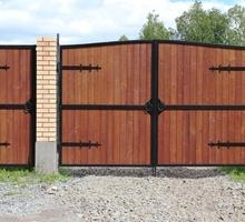 Ворота откатные Красногвардейское - Заборы, ворота в Крыму