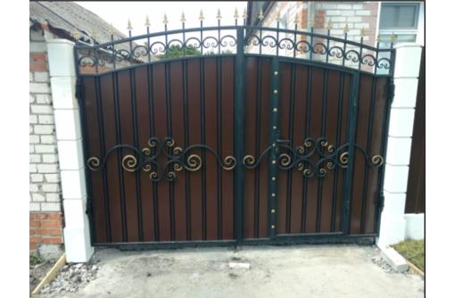 Ворота откатные Алушта - Заборы, ворота в Алуште
