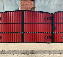 Ворота откатные ЯЛТА - Заборы, ворота в Ялте