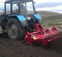 Покос травы трактором в Евпатории – качественная работа, отличный результат! - Сельхоз услуги в Крыму
