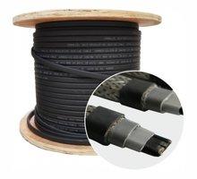 Саморегулирующийся экранированный кабель для крыш и водостоков 30 Вт - Кровельные материалы в Севастополе