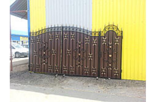 Ворота на заказ Белогорск - Заборы, ворота в Белогорске