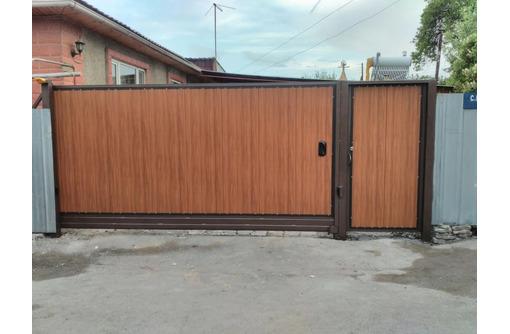 Ворота на заказ АЛУШТА - Заборы, ворота в Алуште