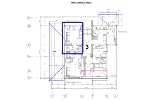 Продается студия 19.5м² 3/3 этаж - Квартиры в Севастополе