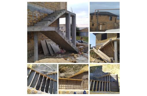 Бригада строителей выполнит строительные работы любой сложности! - Лестницы в Севастополе