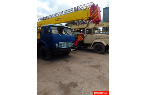 Аренда длинномеров (шаланд) 13,6 м гп 20 тонн , самосвал авто и гусеничные краны МКГ гп 25-40 тонн - Грузовые перевозки в Севастополе