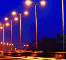 Металлические опоры освещения, столбы, мачты, изготовление г.Симферополь. - Металлические конструкции в Крыму