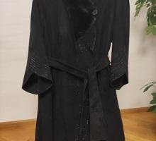 Пальто замшевое - Женская одежда в Севастополе
