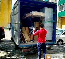 НЕДОРОГО ПЕРЕЕЗДЫ - Большой фургон для перевозки мебели и др. Грузчики - Вывоз мусора в Крыму