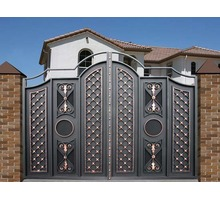 Изготовление металлоконструкций любой сложности: двери, ворота, решетки, оградки, навесы - Металлические конструкции в Крыму