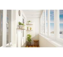 Остекление балконов. Окна. Двери - Балконы и лоджии в Симферополе