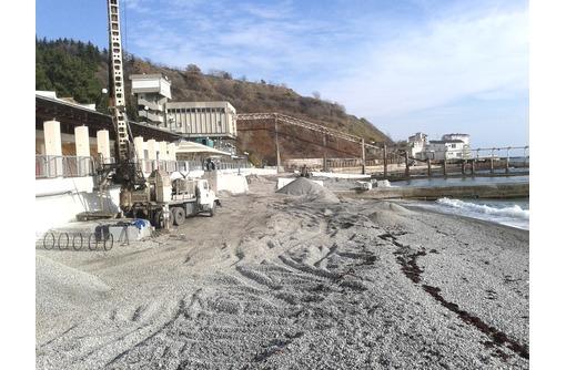 Буронабивные сваи, бурение, устройство, монтаж - Строительные работы в Севастополе