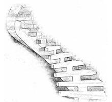 Лестницы бетонные, элитные, монолитные ГАРАНТИЯ 25 лет. ТОЧНОСТЬ ± 3мм    №1 в Севастополе и Крыму - Лестницы в Севастополе
