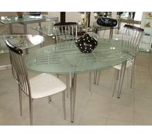 Столы стеклянные обеденные - Столы / стулья в Симферополе