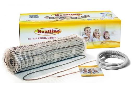 Кабельный теплый  пол  Heatline, фото — «Реклама Джанкоя»