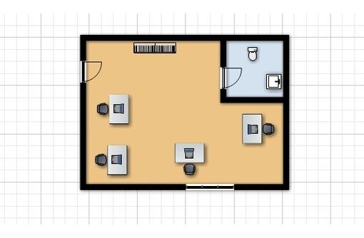Меблированный Офис в районе пл Ушакова, площадью 33 кв.м., фото — «Реклама Севастополя»