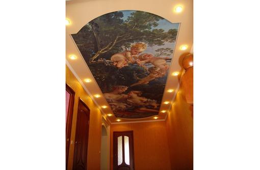 УФ  печать. художественные натяжные потолки и стены - Натяжные потолки в Алуште