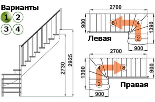 Лестницы деревянные модульные чердачные винтовые  - ДЕШЕВО!!! быстро качественно - Лестницы в Севастополе